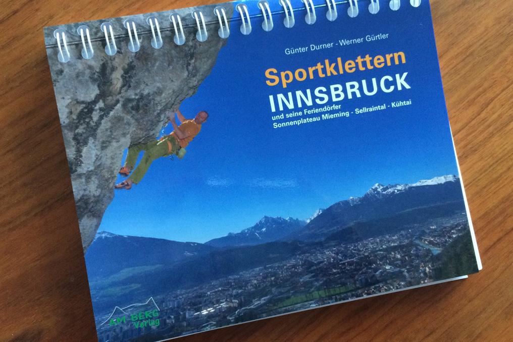 Neuer Sportkletterführer für Innsbruck und seine Feriendörfer